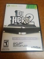 DJ Hero 2 (Microsoft Xbox 360, 2010)(Tested)