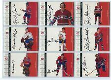 2003-04 Parkhurst Original 6 SIX ,Autographs  Montreal  Elmer Lach  /90 RIP