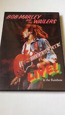 "BOB MARLEY AND THE WAILERS ""LIVE! AT THE RAINBOW"" DVD EN MUY BUEN ESTADO"