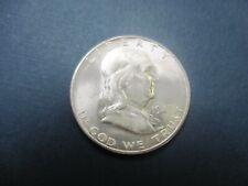 Uncirculated Uncertified BU Silver 1949 S Franklin Half Dollar Ungraded