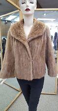 "Pastel Mink Fur 23"" Jacket - size 12"