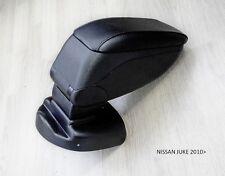 Nissan JUKE 2010- Armrest Centre Console Storage Adjustable Black Armcik