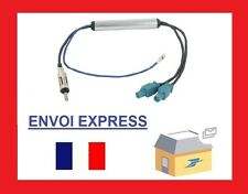 Citroen C3 2005 Aerial Adaptor Amplified Fakra DOUBLE  ISO Cable Lead