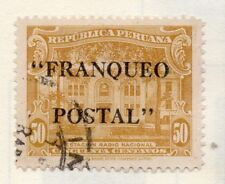 Peru 1905-21 Early Issue Fine Used 50c. Optd 182286