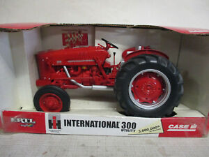 "(2005) IH 300 Utility Toy Tractor ""3 Millionth IH Tractor"" 1/16 Scale, NIB"