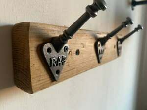 COAT RACK \ RAF Arts and Crafts Hooks \ 30cm - 100cm Lengths Available