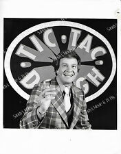 WINK MARTINDALE Terrific ORIGINAL TV Photo THE NEW TIC TAC DOUGH