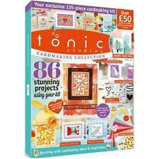 TONIC STUDIOS CARDMAKING COLLECTION MAGAZINE CRAFT ESSENTIALS KIT ISSUE 2