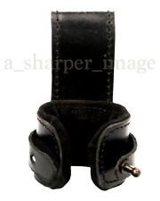 LeatherWorks Deluxe Black Leather Axe Hammer Dagger Holder LARP SCA Carry
