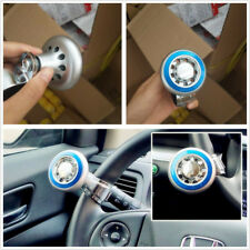 Universal Blue Car SUV Boat Marine Quick Steering Wheel Aid Ball Knob Spinner X1
