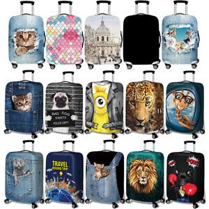 Reisekoffer Elastizität Schutzhülle Schutzabdeckung Reisegepäck Staubschutz S-XL