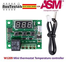 W1209 Digital Cool Heat temp Thermostat Thermometer Temperature Control DC12V