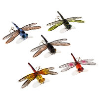 Fly Fishing Flies Dragonfly Insect Style Floating Flies Topwater Popper Lure