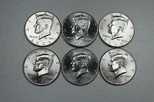 2006 2007 2008  P & D Uncirculated Kennedy Half Dollar Set from Mint Rolls