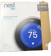 New Sealed Box Nest Pro Learning Thermostat T3008US