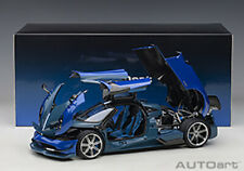 Autoart PAGANI HUAYRA BC BLUE FRANCIA/CARBON COMPOSITE 1/18 Scale New Release!