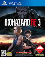 Resident Evil BIOHAZARD RE: 3 Sony PS4 Games From Japan F/S Tracking NEW
