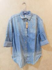 Women's Small American Eagle Outfitters Demin Shirt _________ R17B4