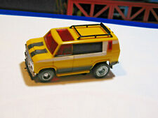 1978 Ideal TCR slot car FORD STREET VAN YELLOW / BLACK
