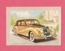 Armstrong Siddeley Sapphire 1954 Car Jacques Chocolate Card from Belgium #24