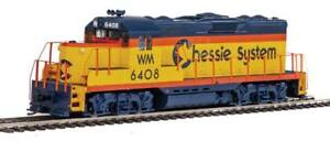 Walthers-EMD GP9 Phase II with Chopped Nose - ESU(R) Sound and DCC -- Chessie Sy