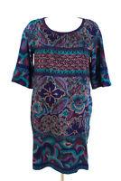 GERARD DAREL Kleid Gr. 42 / XL 100% Seide Etuikleid Shirtkleid Silk Dress Robe