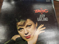 Best of Judy Garland 33RPM EX 120415 TLJ