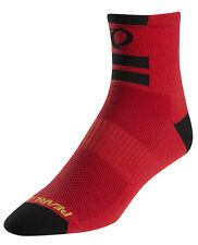 Pearl Izumi Elite Bike Cycling Socks Pl Core Red Large (41-44 US 8-10)
