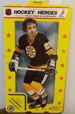 1975 NHLPA Hockey Heroes Stand-Up Boston Bruins Brad Park Fact.wrapped