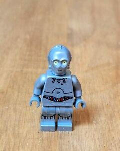 NEW LEGO STAR WARS U-3PO MINIFIGURE (SILVER PROTOCOL DROID) BRAND NEW