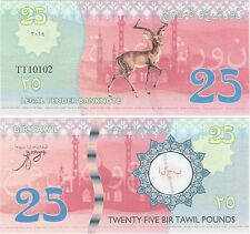 Bir Tawil - Egypt - 25 Pounds 2014 NEW NEUF Fantasy Banknote - Deer