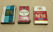 3  x  RARE VINTAGE Cigarette Pack Outer Sleeves