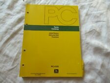 John Deere 820 920 tractor parts catalog book manual