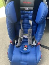 Blue/Black Diono Radian RXT Used Baby Child Car seat, Slim Profile