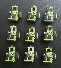 9 x Roley The Steamroller Bob The Builder Croc Shoe Charms Crocs
