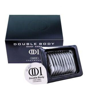 Ultrathin Condoms DB1 Hyaluronic Acid Condom 10pcs Ultra-thin Condom 001 Smooth