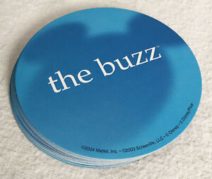 """2004 SCENE IT! DISNEY Game Replacement Parts, Set of 30 """"The Buzz"""" Cards EUC"""