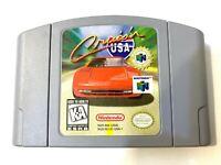Cruis'n Usa Cruisin - Nintendo N64 Game N64 - Tested  Working Authentic Original