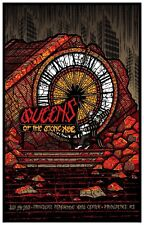 Queens Of The Stone Age 7/14/2014 Poster Providence RI Signed & Numbered #/58