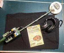 Vintage Garrett Groundhog Metal Detector W/ Headphones 1978 Works Perfectly