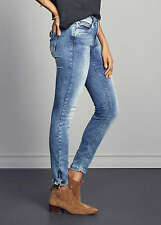 40% OFF B19072915 Damen Only Jeans Skinny Ankle Hose 5-Pockets hell blau denim