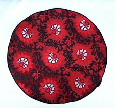 Lord R Colton Masterworks Pocket Round Turin Red Floral Silk - $75 Retail New