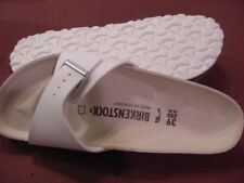 Birkenstock Madrid    39N  L 8 M 6  White  $109.95