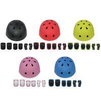 7pcs/Set  Kids Skate Cycling Bike Safety Helmet Knee Elbow Pad Set HOT