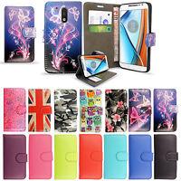 For Motorola Moto C/E4 Plus/G5/G5+ Mobile Phones- Wallet Flip Leather Case Cover
