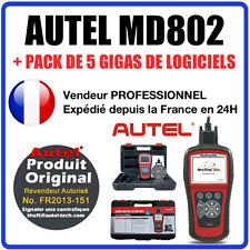 Valise Appareil Diagnostique Pro Multimarque En Français Obd2 Diagnostic MDE802