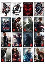 The Avengers : Age of ultron marvel new Movie 2015 Postcard 16pcs per set