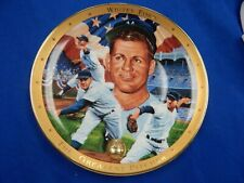 """Royal Doulton Whitey Ford """"The Greatest Pitcher"""" Limited Ed Collector Plate"""
