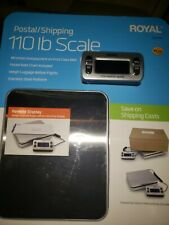 Brand NEW & SEALED!!! Royal DG110 Shipping/Postal Scale, 110 lb. Capacity