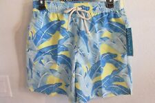 NWT STRONG BOALT PALM BEACH SMALL MULTI COLOR PALM LEAF SWIM TRUNKS $145.00